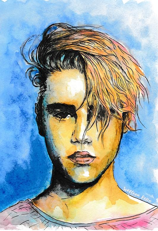 Justin Bieber by svetliaciok